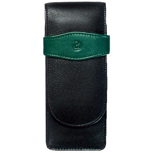 pennenetui Pelikan Black-Green voor 3 pennen