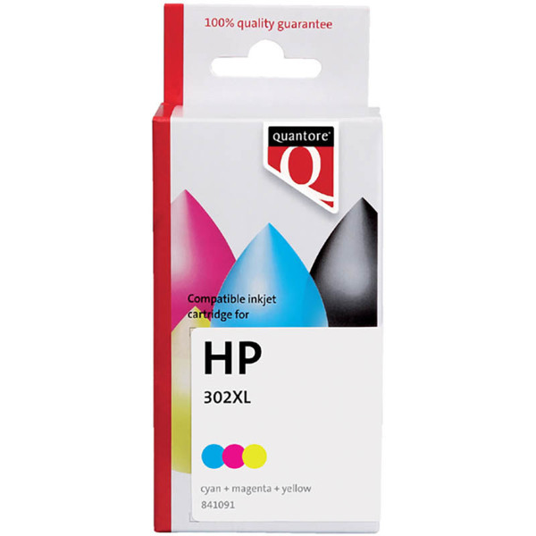 Picture of inktcartridge Quantore HP F6U68AE 302XL color 21ml