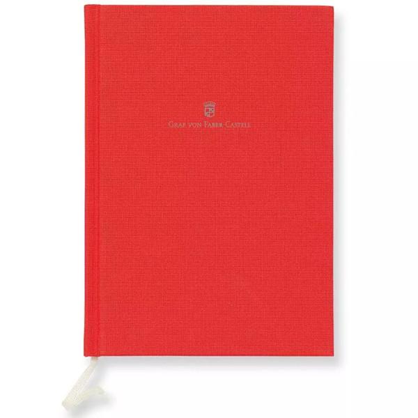 notitieboek Graf von Faber-Castell A5 India Red