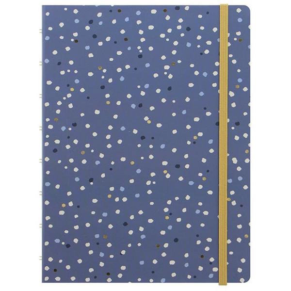 Afbeelding van notitieboek Filofax Notebook A5 Indigo Snow