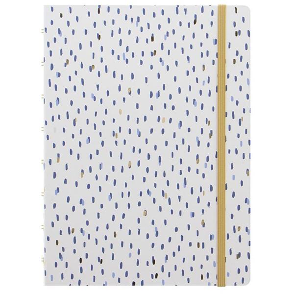 Afbeelding van notitieboek Filofax Notebook A5 Indigo Rain