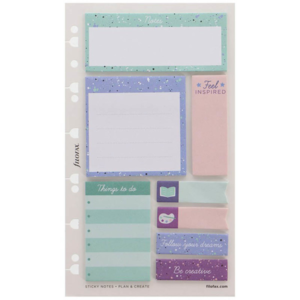 Afbeelding van filofax Personal / A5  Expression Sticky Notes