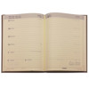 agenda Brepols 2021-2022 Weekly notebook 16M 16 maanden 148x210mm 7/1 Tessuto