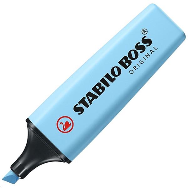 markeerstift STABILO Boss Original 70/112 pastel vleugje blauw