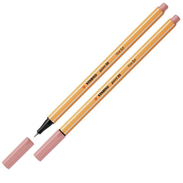 Afbeelding van fineliner Stabilo point 88-28 blush
