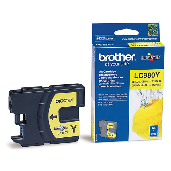 inktcartridge Brother LC-980Y yellow