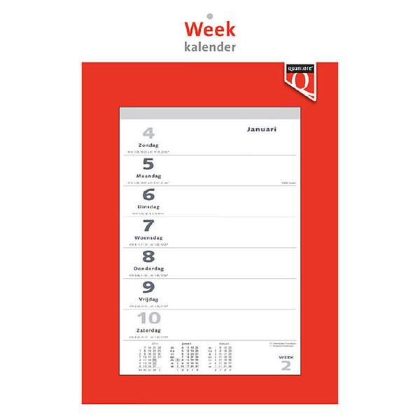 kalender Quantore weekkalender