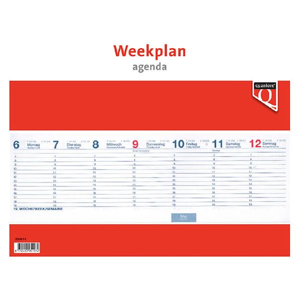 kalender Quantore 2021 weekplanagenda