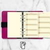 filofax Personal jaarplanner vertikaal 2022 cotton cream