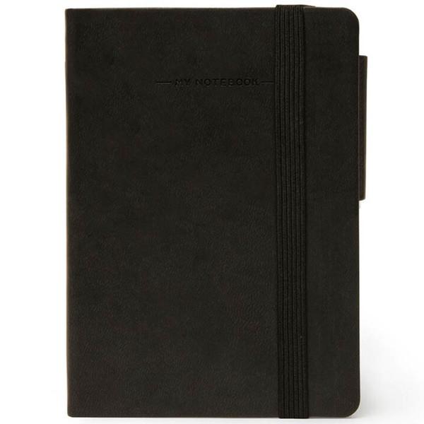 notitieboek Legami My Notebook Smal  95x135mm gelijnd black