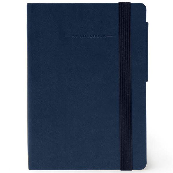 notitieboek Legami My Notebook Smal  95x135mm geruit blue
