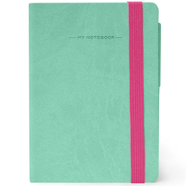 notitieboek Legami My Notebook Smal  95x135mm blanco aqua