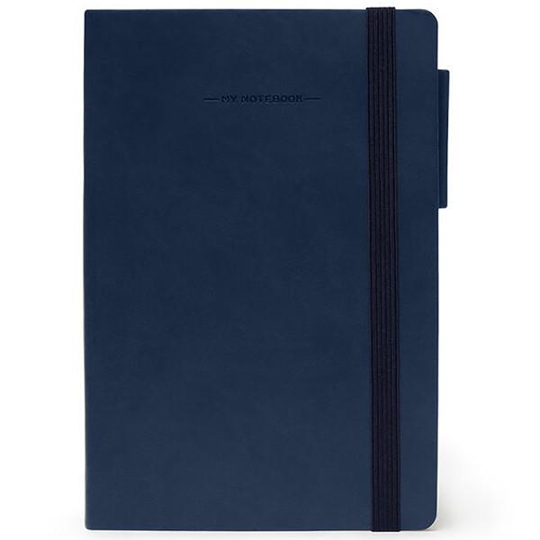 notitieboek Legami My Notebook Medium 120x180mm geruit blue