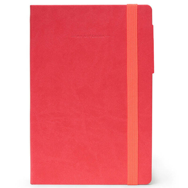 notitieboek Legami My Notebook Medium 120x180mm geruit coral
