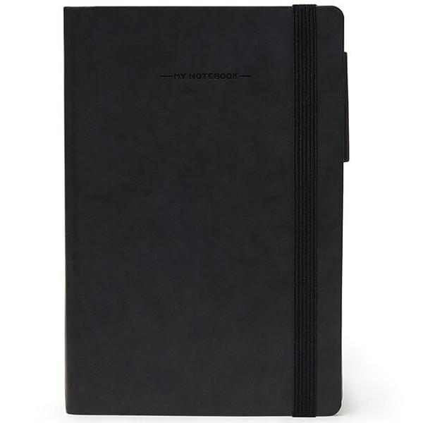 notitieboek Legami My Notebook Large  170x240mm geruit black