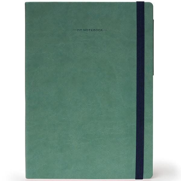 notitieboek Legami My Notebook Medium 120x180mm geruit vitage green
