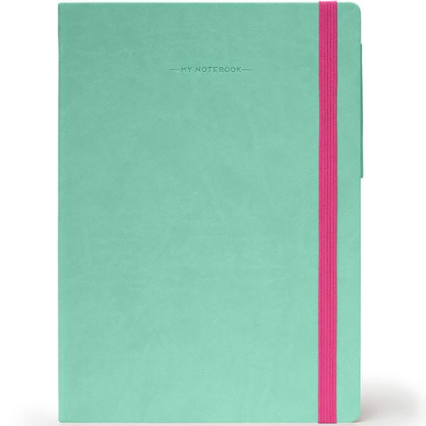 notitieboek Legami My Notebook Large  170x240mm blanco magenta
