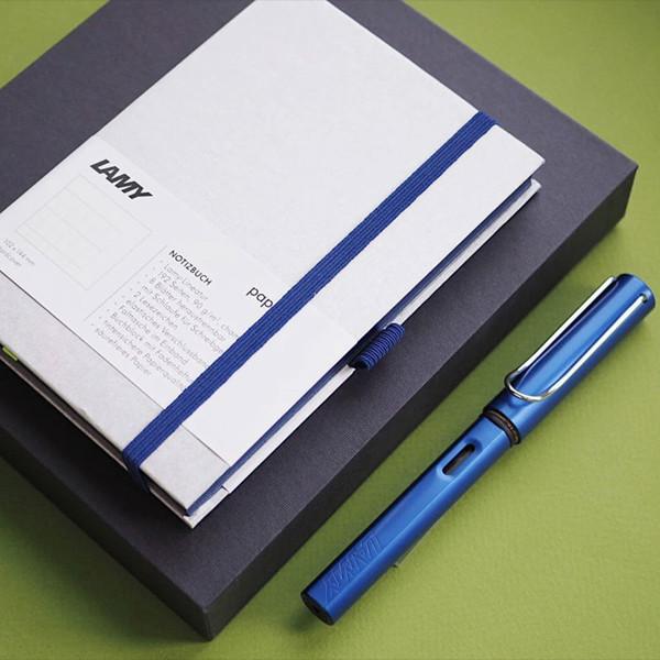 LAMY AL-star + notebook gift set - oceanblue
