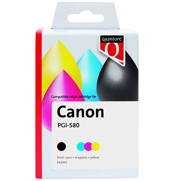 inktcartridge Quantore Canon PGI-580XXL CLI-581XXL multipack
